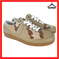 Hunter Mens Original Desert Camo Low Canvas Sneakers UK 7 / 40 Camouflage Gum