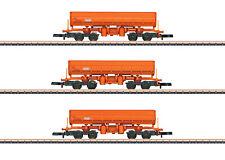 Märklin 82435 Spur Z Seitenkippwagen-Set EAMOS der RTS 3-teilig#NEU in OVP#