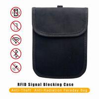 Car Faraday Bag Keyless Key Fob RFID Signal Blocker Shielding Pouch Anti Theft