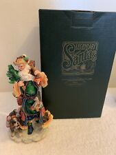 New Galleria Lucchese Legendary Santas 1997-Santa With Dog - Swiss