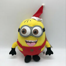 Despicable Me Minion Jorge Plush Soft Toy Doll Teddy Christmas Style 9.5""
