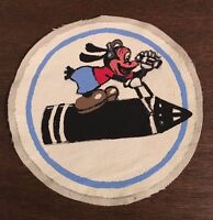 WWII USAAF US Army Air Force 8th AAF Bomb Squadron patch Goofey