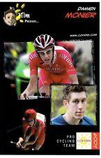 CYCLISME carte cycliste DAMIEN MONIER équipe COFIDIS 2009