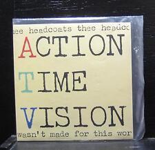 "Thee Headcoats - Action Time Vision Mint- 7"" Vinyl 45 UK 1993 Vinyl Japan PAD 9"