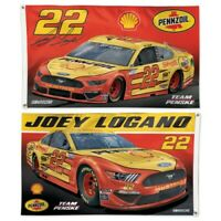 na Multi WinCraft NASCAR Penske Racing Joey Logano NASCAR Joey Logano Glitter #22 Specialty Acrylic License Plate