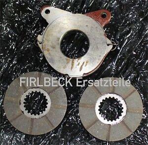 Bremsbetätigung Bremsautomat + 2 Bremsscheiben Bremse für FENDT GT231 GT250