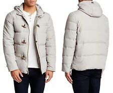 KENNETH COLE NEW YORK Hooded Down Jacket in Stone Sz.XL  NWT