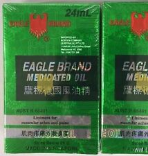 1x Eagle Brand 24ml Medicated Oil Liniment For Muscular Aches & Pains Relief