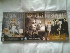 Nashville - Season 1,3 & 4  NEW [DVD]