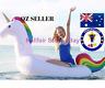 Inflatable Unicorn Pool Float-Giant Ride-on Rainbow Unicorn Floaties