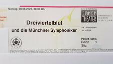 2 x Dreiviertelblut + Münchner Symphoniker 08.06.2020 München - 1. Reihe