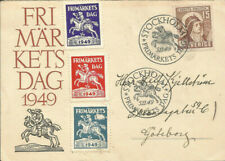 FDC Sweden Stamp day 1949