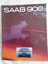 SAAB 900 BROCHURE GAMMA 1979 mercato australiano