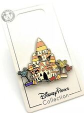 Disney Parks 2020 Cinderella Castle Candy Corn House Halloween Trading Pin - New