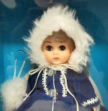 "World of Ginny Vogue Dolls Winter Chill 8"" Poseable Vinyl Doll Blinking Nrfb"
