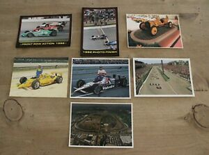 Vintage Postcards Indy Car Racing Indianapolis 500 Official Lot NEW UNUSED