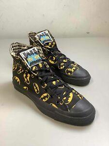 Men's 1989 Vintage Converse Batman Shoes Size 10, Made in USA