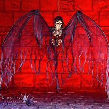 Énorme halloween ange de la mort chauve-souris crâne squelette hanging horreur fête décoration