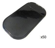 50 Black Car Dashboard Anti Slip Grip Sticky Magic Mat Mobile Phone iPhone Keys