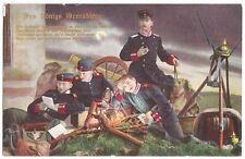 VINTAGE 1914 GERMAN POSTCARD DES KÖNIGS GRENADIERE # 1