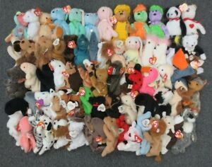 ~~70 TY BEANIE BABIES COLLECTION LOT - WHOLESALE BULK