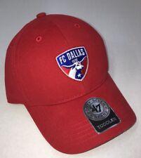 brand new 9f98e 74de9 FC Dallas Adjustable Hat Toddler  47 Brand Kids Red MLS Soccer Tex Hooper  New