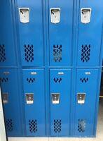 Penco Products Inc Lockers Metal Employee Storage School 8 Door Electric Blue