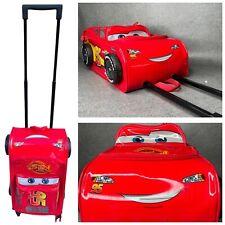 Disney Cars Lightning Mcqueen Cabin Bag Suitcase Holiday Luggage Kids Boys Girls