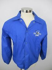 Vintage Dallas Cowboys Football #1 Official Fan Club Windbreaker Jacket L Large