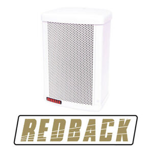 Redback 30W 100V White Weather Proof Speaker Monitor C0907