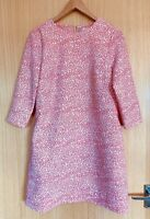 Ted Baker Ladies Dress 10 2 Fish Tunic New Pockets Smart Work Casual £159