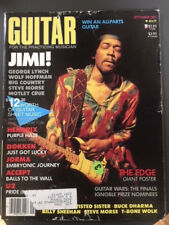 Guitar For The Practicing Musician. September 1985. Featuring Jimi Hendrix.
