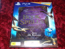 Book of Spells Hogwarts Wonderbook PS3 Brand New