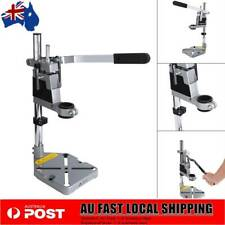 Pro Bench Drill Press Stand Heavy Duty Frame Cast Metal Holder Base Machine Tool