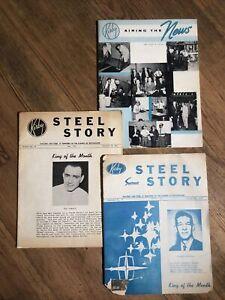 RARE 1960's KIRBY Vacuum Cleaner SALES BULLETINS - Steel Story / Airing the News