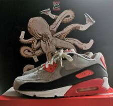 NIKE AIR MAX 90 'INFRARED' 2010 RELEASE - UK10 / US11 / EU45 - USED - OG