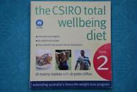 THE CSIRO TOTAL WELLBEING DIET #2.Dr Manny Noakes,Dr Peter Clifton.A Proven Diet
