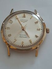 VINTAGE MEN'S RARE LONGINES ADMIRAL 1200 AUTOMATIC 10K GF WATCH RUNNING PERFECT