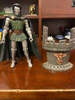 Marvel Legends Toybiz Series 2 Dr. Doom Action Figure with Base and Gun