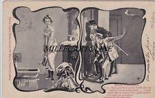 MONTECATINI: cartolina ricordo - la signorina sta per fare il bagno    1902