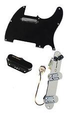 Fender Tele Telecaster Loaded Pre-wired Pickguard Lace Tele Plus Pickups BK