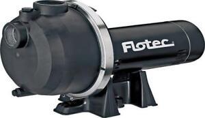 NEW FLOTEC FP5172-08 1.5 HP UTILITY PORTABLE WATER SPRINKLER PUMP SALE 9546359