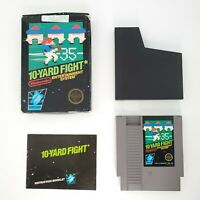 10 Yard Fight (1985) Nes Nintendo Cib Game, Rev A Tested OK Condition 3 screw