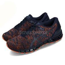 Asics Gel-Quantum 360 Knit 2 Peacoat Orange Men Running Shoes Sneakers T840N-403