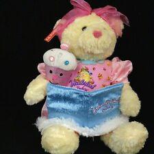 "Wonderland Bakery Storytime Cupcakes Bear Allyson Animated 2007 Gund 10"" Sitting"