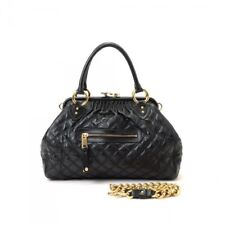 8fb0588bcadc Marc Jacobs Quilted Vintage leather Iconic Stam Bag - Black. Mint Condition