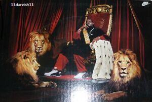LeBron James KING JAMES Vintage 2004 Rookie NBA Basketball NIKE Poster