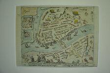 Baudartius: Kupferstich Ruhrort, Bild Duisburg, Ruhr, Ruhrtpott; 1616, koloriert