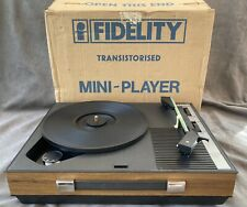 More details for fidelity mini record player super condition