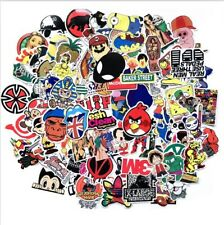 usa saler Lot 100  Vinyl Laptop Skateboard Stickers bomb Luggage Decals
